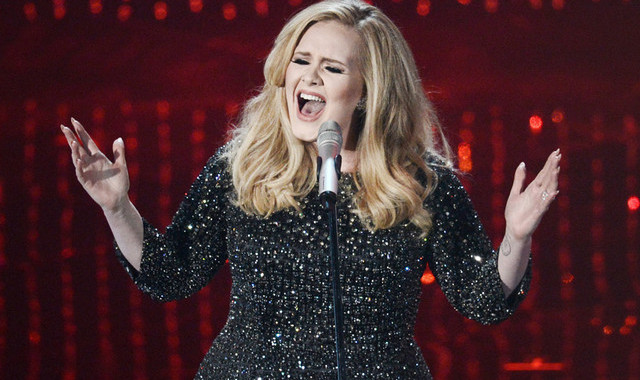 adele, performing